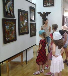 poze tabara de copii aquarelle muzeul de arta populara 3