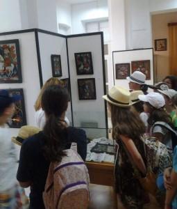 poze tabara de copii aquarelle muzeul de arta populara 4