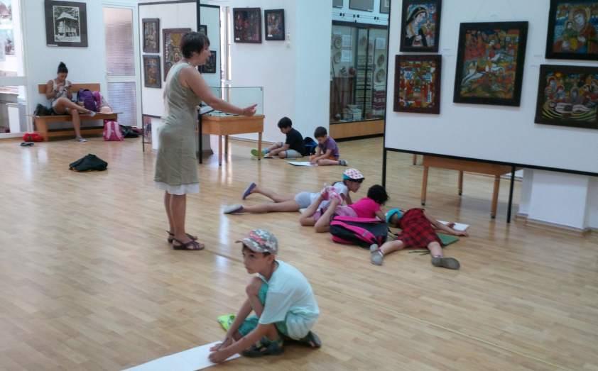 poze tabara de copii aquarelle muzeul de arta populara constanta