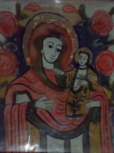 maica domnului cu pruncul nicula secol 19